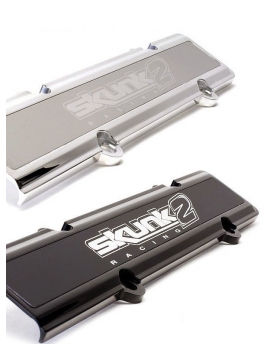 Skunk2 Racing Spark Plug Cover Silver Aluminum (B-Engines 87-02)