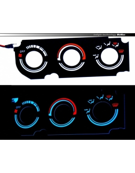 LED INDIGLO Honda CR-V I gen. 1997-2001  - heater panel