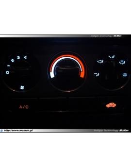 LED INDIGLO Honda Civic 1995-2000 5D   - heater panel