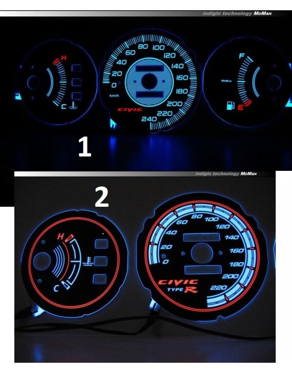 LED INDIGLO Honda Civic 1992-1995 (NO REV)