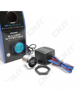 PIVOT-ILLUMI STARTER Engine Start Button Ignition Starter