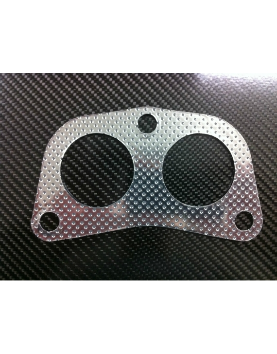 HONDA CIVIC CRX HEADER GASKET 4-2-1 2PC DOWNPIPE For d16 and b18 aftermarket header
