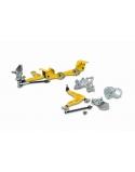 S14/S15 Front Lock kit& ackermann adjustment set. DRIFT KIT