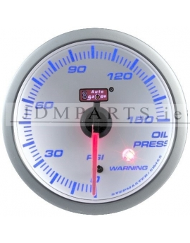 STEPPER MOTOR WARNING CLEAR 52mm OIL PRESS