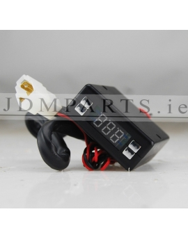 ELECTRONIC LCD EXHAUST TURBO TIMER KIT BLACK
