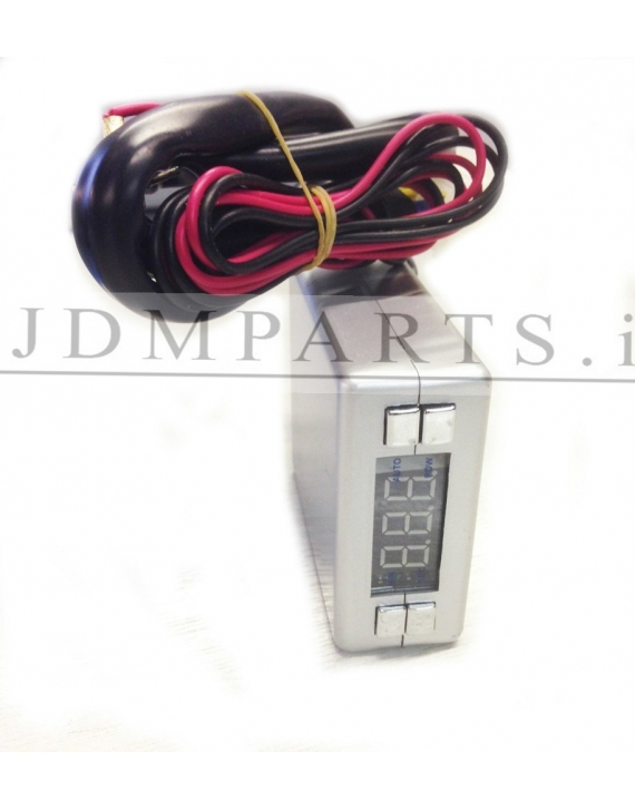 ELECTRONIC LCD EXHAUST TURBO TIMER KIT SILVER