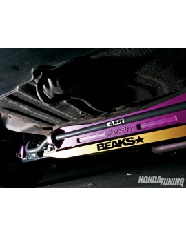 BEAKS SUBFRAME LOWER TIE BAR - HONDA CIVIC 1996-2000
