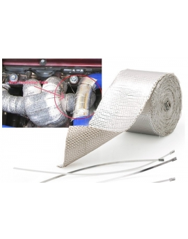 Heat Shield Wrap Tape for Car intake intercooler pipe Reflective Insulation