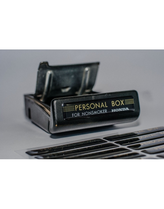 HONDA CIVIC CRX EF Personal Box NONSMOKER Ashtray Sticker V2.0